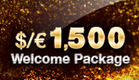 Welcome Package of up to $1,500 for ALL games
