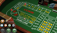 Craps, another popular table game